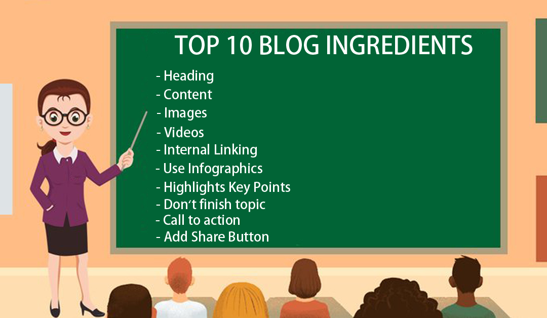 Top 10 ingredients Which Every blog Need