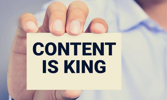 content is king in email marketing