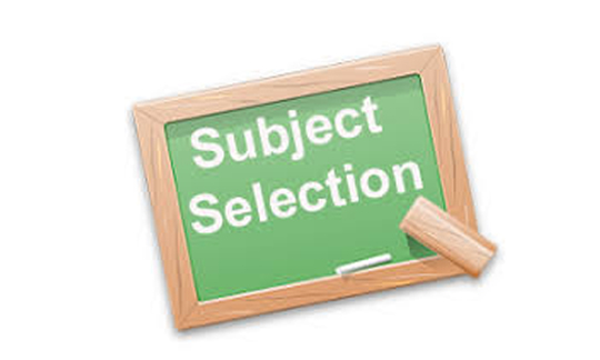 select your subject of email marketing